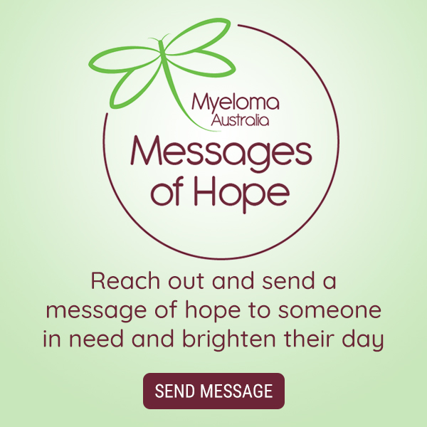 Messages of Hope - send a message of hope for a small donation.
