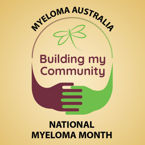 National Myloma Month - Building my community - logo